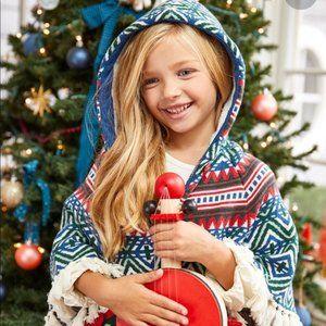 MATILDA JANE 'A Caroling We Go' Poncho Sweater